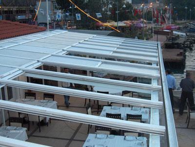 Açılır Tavan Kış Bahçesi Cam Balkon Modelleri Cam Balkon